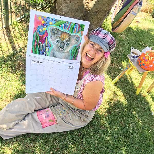 Mychelle Mahar 2021 Arty Calendar